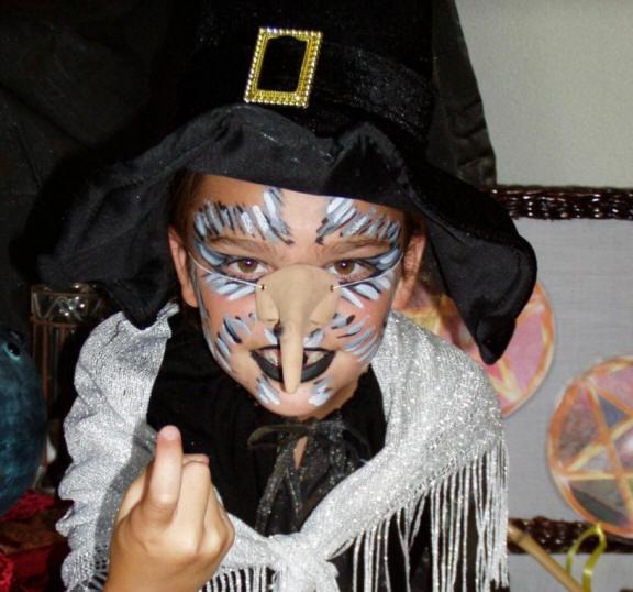 Kinderfeestkisten heksen